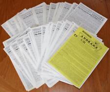 Job Lot 123x Pirate Radio ANORAKS UK WEEKLY REPORTS Aug86-Dec88 + Press Cuttings