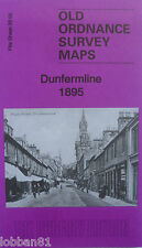 OLD ORDNANCE SURVEY DETAILED MAPS DUNFERMLINE FIFE SCOTLAND 1895   S39.05 NEW