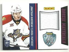 Jonathan Huberdeau 2014 Panini NHL Player of the Day Panthers ROOKIE Materials
