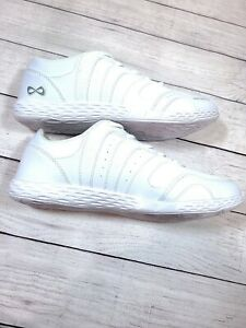 Nfinity Rival 2 Cheer Shoes Size 8.5 White Clean Nice Cheerleading