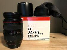 Canon 24-70MM F/2.8L EF USM Lens