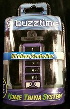 Buzztime Home Trivia System Wireless Controller in Purple Factory Sealed