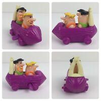 Hanna Barbera Flintstone & Dino Car Character Toy Burger King Cartoon Wind-Up