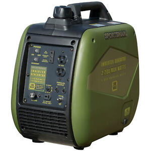Sportsman 2,200-W Super Quiet Portable Gas Powered Inverter Generator