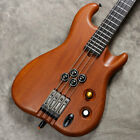 ATLANSIA: GARLAND BASS PASSIVE Mahogany 1pc Body Electric Bass for sale