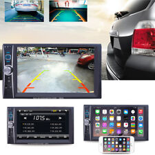 "7"" 2 DIN Autoradio Touch Screen Bluetooth TV FM Aux In Stereo MP5 MP3 Player TFT"
