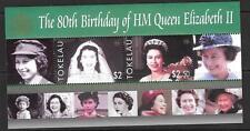 TOKELAU ISLANDS SGMS378 2006 80th BIRTHDAY OF QUEEN ELIZABETH II MNH