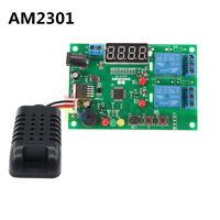 Digital AM2301 Sensor Temperature Humidity Control Board LED Module DC5V-24V