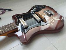 Elgava Unica-2 Tulip soviet vintage electric Guitar / Lapsteel 70s USSR