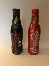 Coca Cola Bottle Aluminum Winter Olympic Games 2010 Vancouver Torch Relay Canada