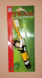 PITTSBURGH STEELERS TEAM NFL Football Uniform Player Toothbrush New