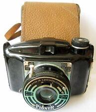 Vintage Bakelite Camera Druopta Pionyr 6x6 film /6x 4,5 W/Original Case # 190