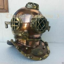 Morse Antique Us Navy Mark V Scuba Divers Diving Helmet Deep Sea Marine Diver