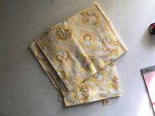 2 vintage Dundee receiving blankets USA baby bunny ballon flannel