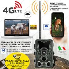 FOTOTRAPPOLA 20MP HC-801 LTE 4G HD MIMETICA video SPIA MMS EMAIL INFRAROSSI 2021