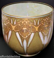 Limoges Guerin CACHEPOT Vase Hand Painted Art Deco Design Gorgeous Large Piece