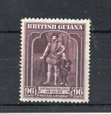 BRITISH GUIANA 1944 GEORGE 6TH 96c PURPLE SG,316a M/MINT LOT 3989B