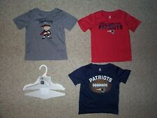 (3) New England Patriots nfl PERFORMANCE Jersey Shirt Shirts TODDLER (2-2T)
