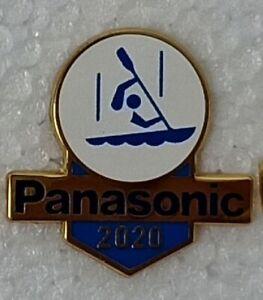 CANOE SLALOM TOKYO 2020 PANASONIC OLYMPIC PIN