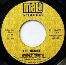 SPOOKY TOOTH 45 The Weight/Do Right People MALA psych/prog NM promo f3092