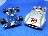 LOT  TYRREL 003-1971 MERCEDES W 196-1954 DAIMLER CHRYSLER F1 RBA COLLECTIBLES