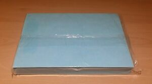 100 sheets of A4 edible wafer paper (rice paper) semi-transparent BLUE colour