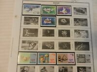 Lot of 7 1976 Bhutan Stamps, Flowers, Jewelry, MInt, Never Hinged