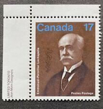 Canada #877 MNH Plate Single Stamp - Emmanuel-Persillier Lachapelle