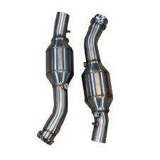 Ferrari 360 99-06 High Flow 200 Cell Sports Exhaust Catalytic Converters (Pair)
