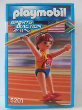 Playmobil Sports Set Figure Javelin lanceur de New & Sealed