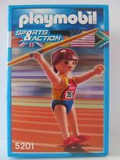 Playmobil Set Figuras De Deportes Javelin lanzador Nuevo y Sellado