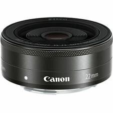 Canon EF-M 22mm f/2 STM Lenses - Black