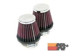 K&N Universal Clamp-On Air Filter For 2-1/4FLG,3-1/2B,2T,4H (2 PER BOX) RC-1252