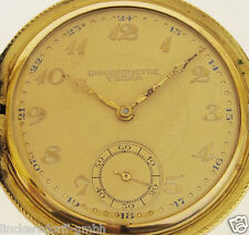 CHRONOMETRE TEGRA TASCHENUHR - VERGOLDETES GEHÄUSE - ALTER: um 1900 -CHRONOMETER