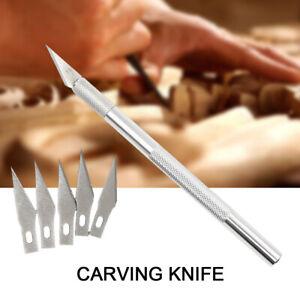 Blades Steel Engraving Knife Mobile Phone DIY Repair Hand Tools Metal Scalpel ON