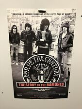 END OF THE CENTURY THE STORY OF THE RAMONES MOVIE POSTER Original Small Size