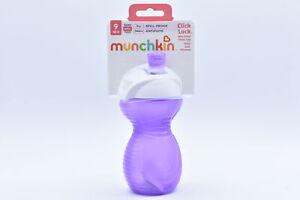 Munchkin Click - Lock Bite Proof Soft Spout 9oz  Sippy Cup, Purple