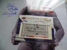 Roy Emerson /19 Auto 2009 Upper Deck Prominent Cuts autograph signed PSA/DNA