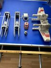 star wars snow speeder and other parts lot