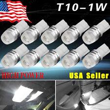10x T10 Wedge Xenon White High Power 1W 2323 LED Light Bulbs 192 168 194 921 US