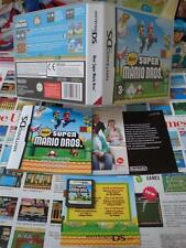 Nintendo DS:New Super Mario Bros [TOP & 1ERE EDITION + VIP] COMPLET - Fr