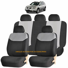GRAY ELEGANT AIRBAG COMPATIBLE SEAT COVER for PONTIAC MONTANA TORRENT