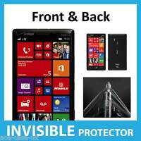 Nokia Lumia 929 Full Body INVISIBLE Screen Protector Shield Front & Back Inc