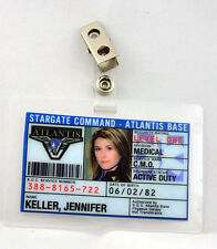 Stargate Command Atlantis ID Badge-Jennifer Keller cosplay costume prop