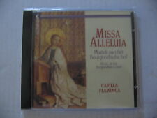 CD CAPILLA FLAMENCA - MISSA ALLELUIA / comme neuf