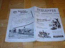SCHLEPPER + LANDMASCHINE  9/1952 - DÜRKOPP MD 200/DEUTZ