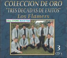 Los Flamers Tres decadas de Exitos Coleccion de oro 3CD New Nuevo sealed