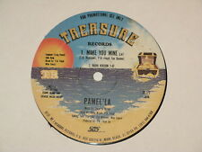 "PAMEL LA make u mine 12"" RECORD PROMO PAMELA MAKE YOU MINE FREESTYLE"