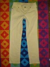 SONOMA sz 8 (31x31)MODERN FIT Stretch STRAIGHT Leg jean PANTS Sunburst YELLOW