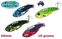 Vibes Blades Fishing Switchblade Blade VIBE VIB Metal Lures Bream Bass Flathead